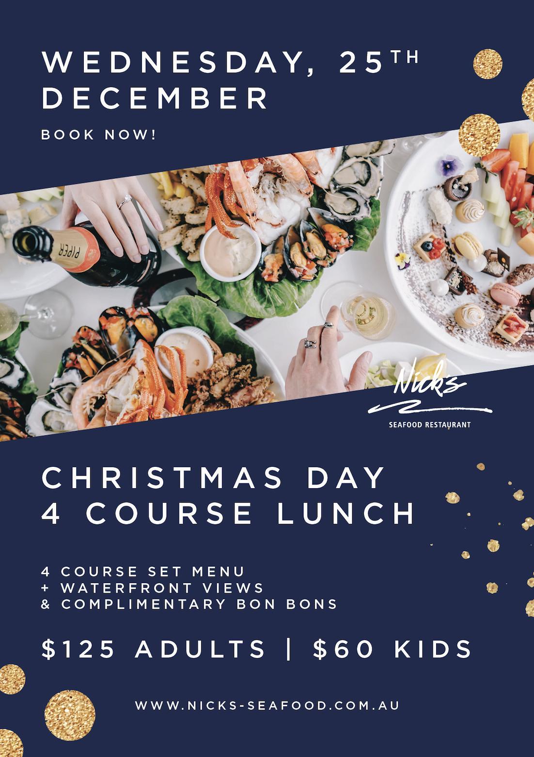 Christmas Dinner Restaurants Near Me 2019.Christmas At Nick S Seafood Restaurant Nick S Restaurant
